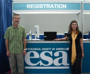 Emmett and Pamela, along with other ZEN partners, presented at the 2012 ESA conference.