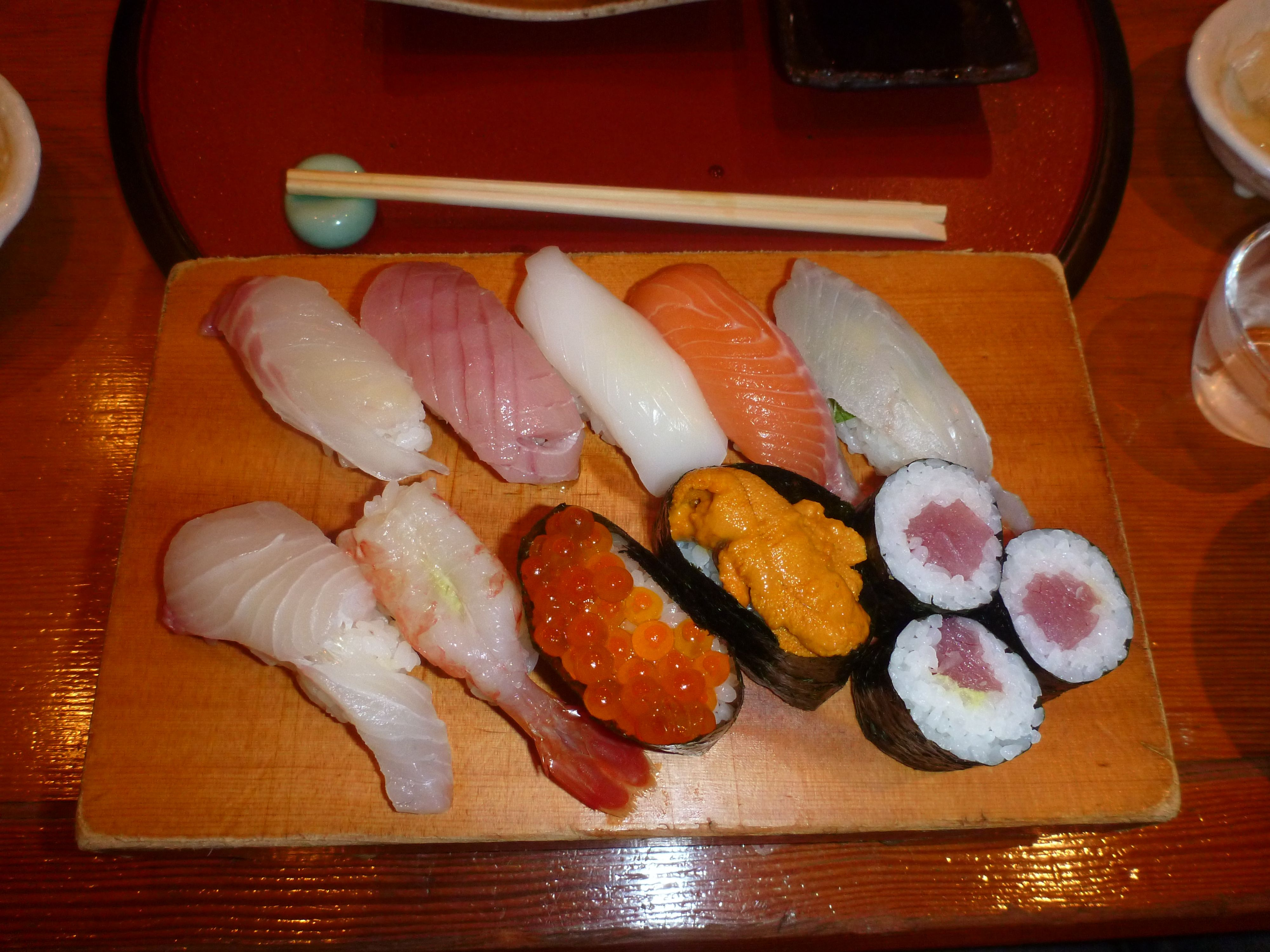 sushi complex and delicate flavors essay