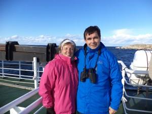 Locals on the ferry to Utö Island