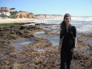 Pamela at the COST seagrass productivity meeting in Portugal