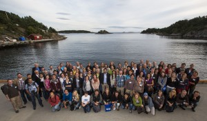 Pamela and EMBS conference attendees in Norway