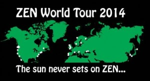 Sun never sets on ZEN 2014