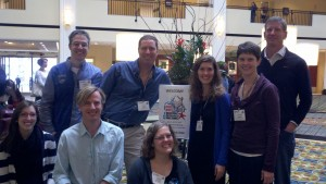 ZEN partners at the 2013 Benthic Ecology Meeting