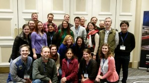 ZEN partners at the Benthic Ecology Meeting in Quebec City, March 2015