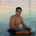 San Diego State University undergraduate Chris Bayne