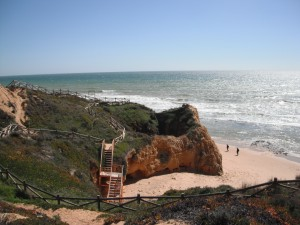Hiking along the Algarve coast