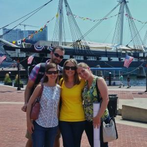 VIMS graduate students and postdocs at ESA in Baltimore