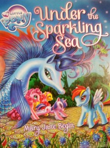 A book in the aquarium's store brought the week full circle from witnessing the end of the BronyCon meeting just before ESA and the aquarium trip at the end of the conference.